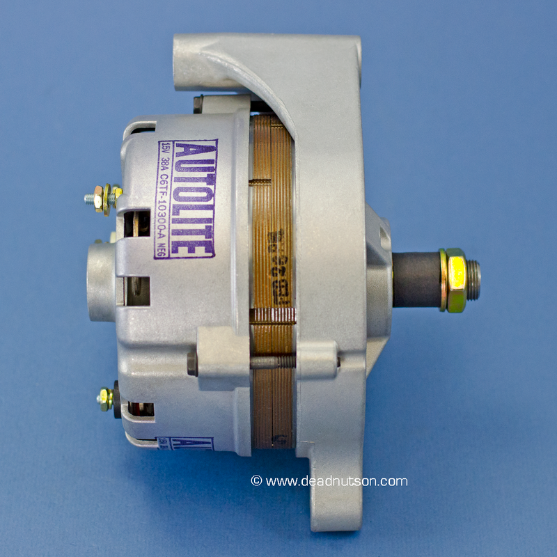 1968 390 STD +PS -PS  Autolite Alternator C6TF-10300-A (before June 1968)