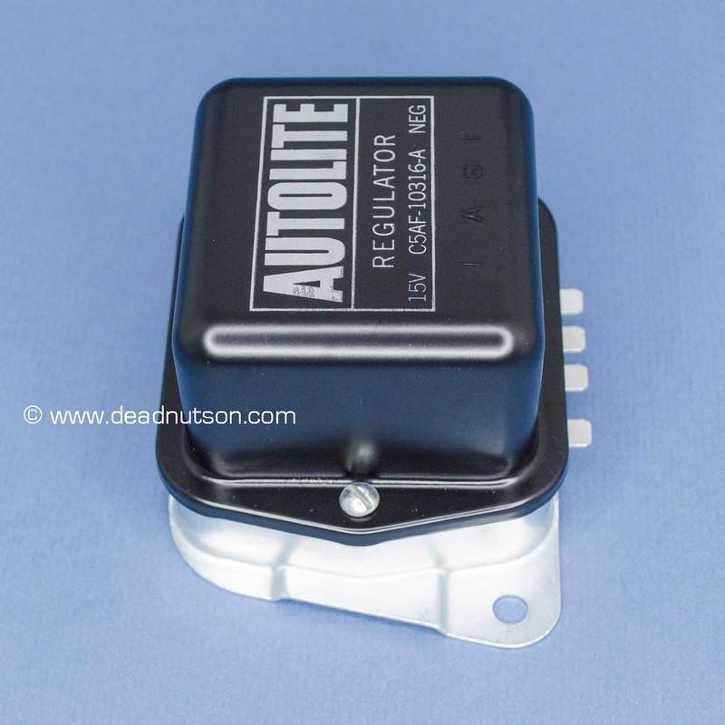 1965-67 Autolite Voltage Regulator 38-42 Amp