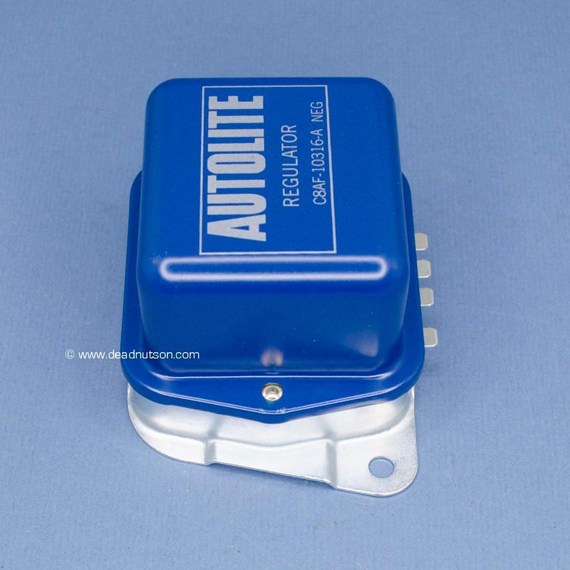 1968-4/1970 Autolite Voltage Regulator 38-42 Amp