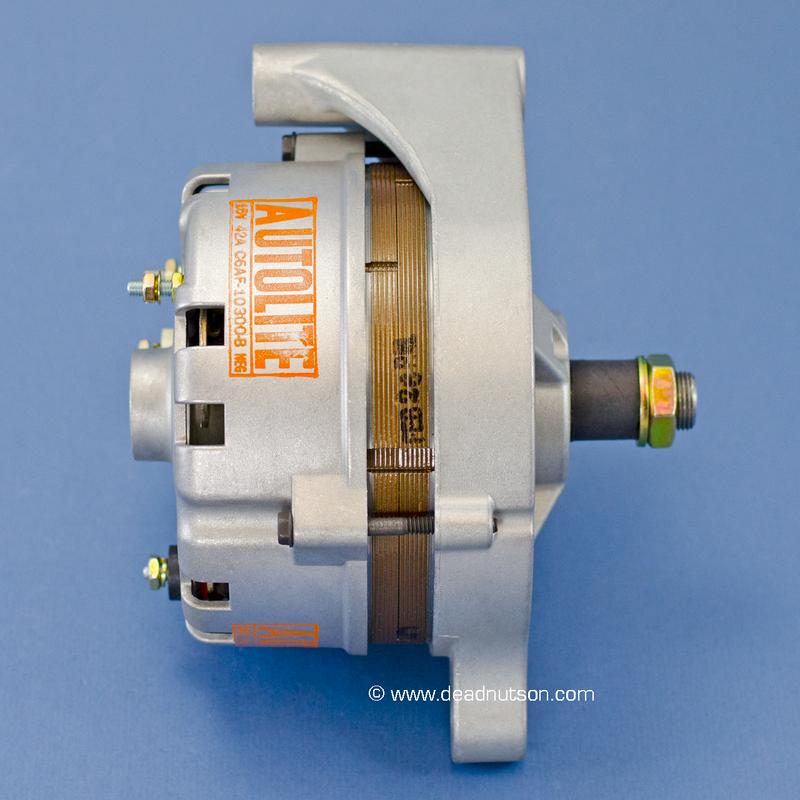 1969 200, 302, 351W +/- PS Autolite Alternator C6AF-10300-B (before March 1969)