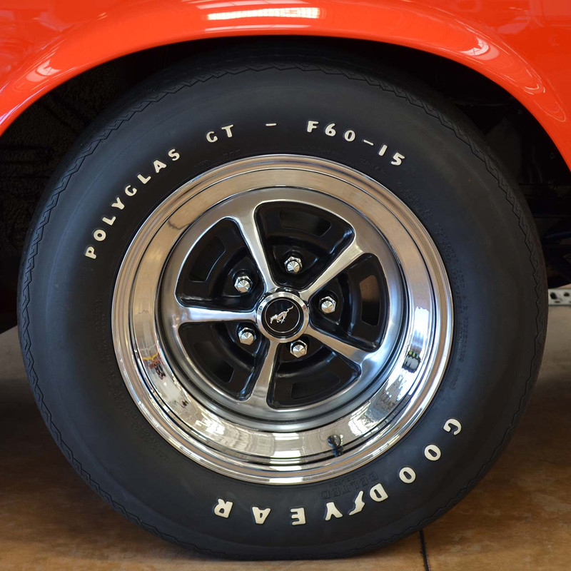 1970 BOSS Magnum 500 Wheel Restoration