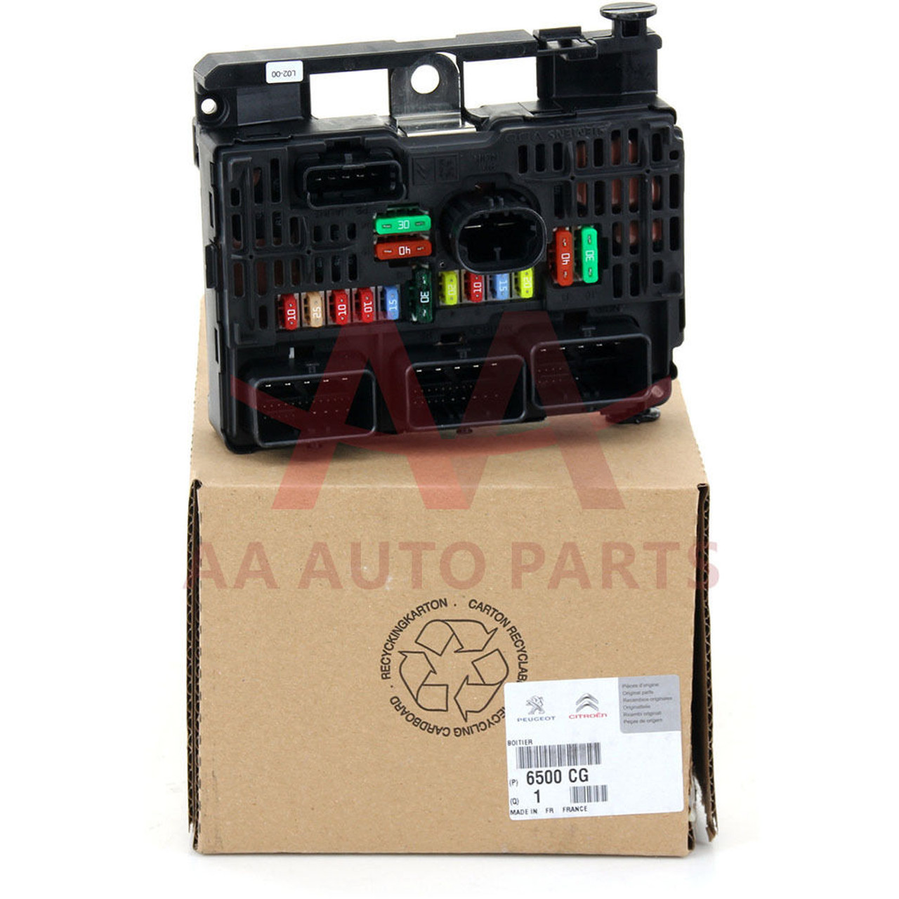 Wadsworth Fuse Box Parts Trusted Wiring Diagrams Old 60 Amp Part Diagram Electric Breakers Genuine Peugeot Citroen 3 0l V6 Engine