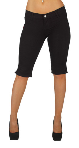 Basic Bermuda Premium Stretch Moleton With gentle push up stitching - 10 Colors!