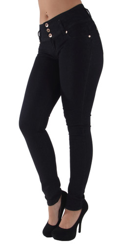 N3490P - Plus Size, Butt Lifting, Levanta Cola, Skinny Jeans