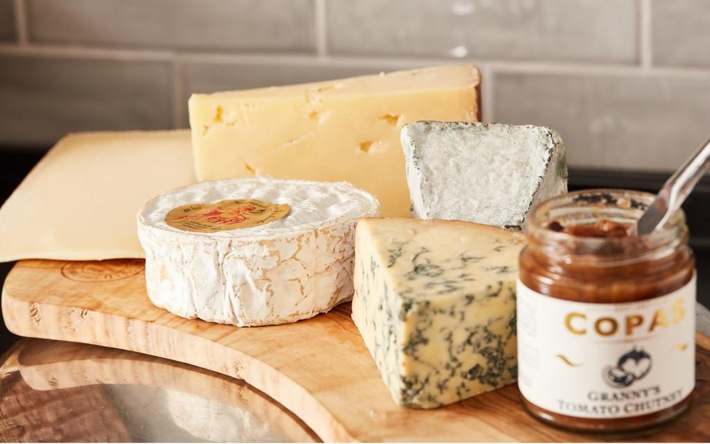 5 Cheese Board