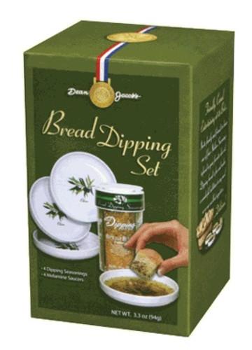 5 piece Melamine Bread Dipping Set 4.0 Oz Large