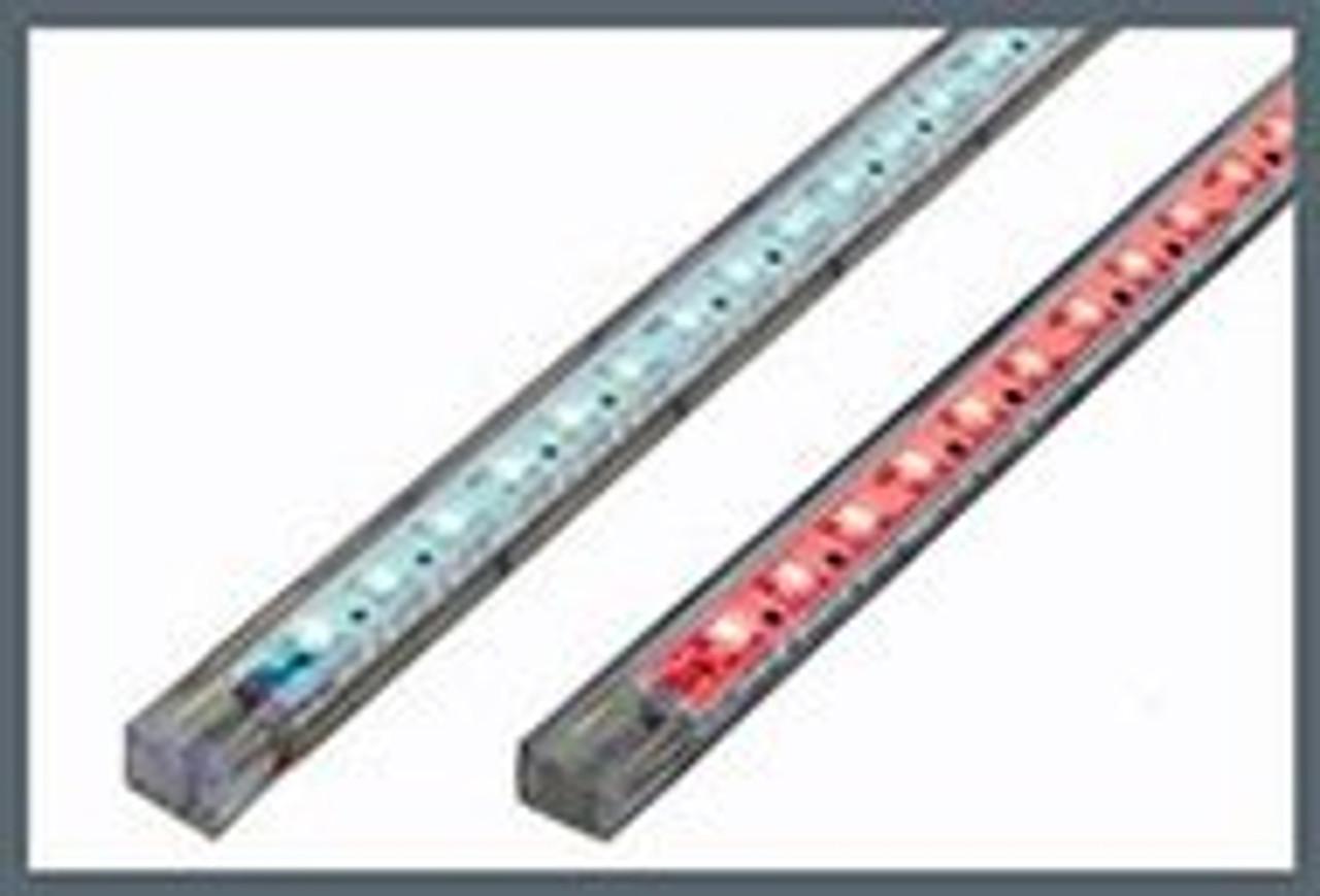 Strip 9 LED 13cm (5in) White-Blue (Dual Color) - Dual Lead
