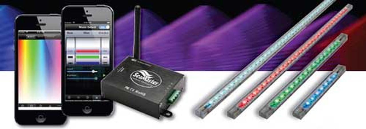 Lifetime Warranty SeaMaster Lights Strip 30 LED 50cm (20in) RGB
