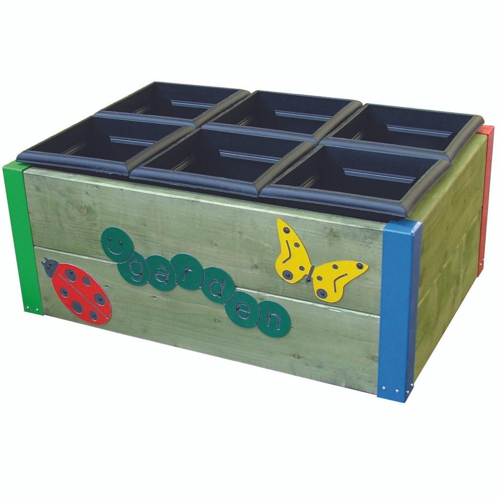 6 box gardening unit.