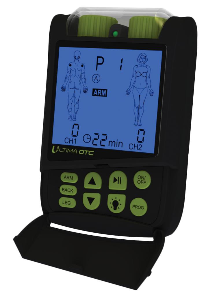 PMT Medical Ultima OTC TENS Unit - Black