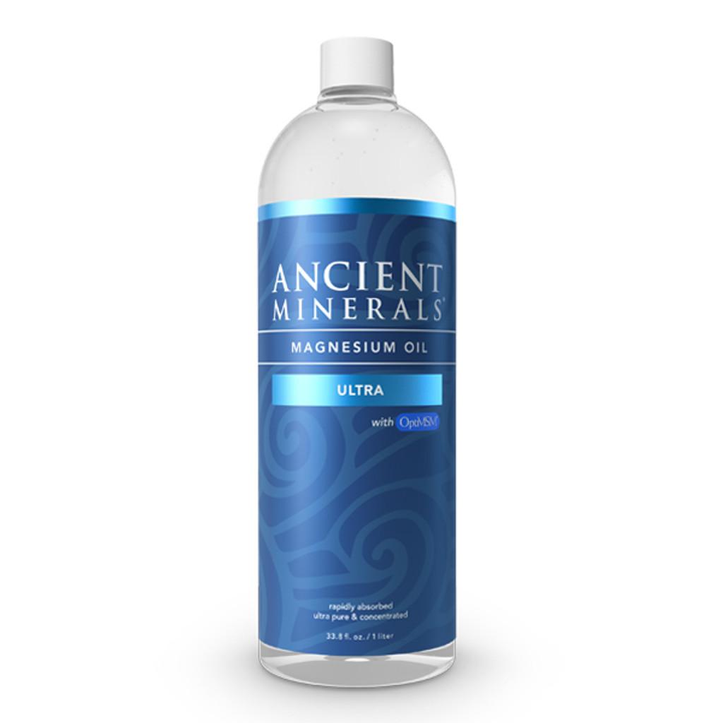 Ancient Minerals Magnesium Ultra Oil, 33.8 oz