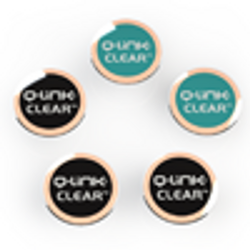 Q-Link Clear EMF Shield, 5 Multi Pack