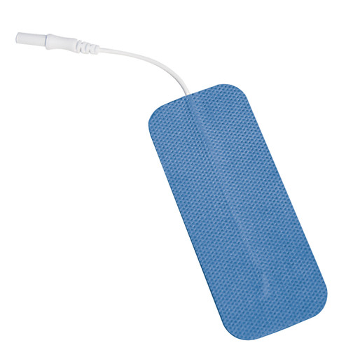 """Soft-Touch Carbon Electrodes Cloth Back (Tyco Gel)1.5"""" X 6"""" Qty: 10 Packs Of 2 Electrodes/Pack"""