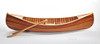 Display Cedar Strip Canoe Model Matte Finish