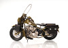 Harley Davidson Military Motorcycle Metal Model Army