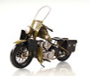 1942 Harley Davidson Military Motorcycle Metal Model