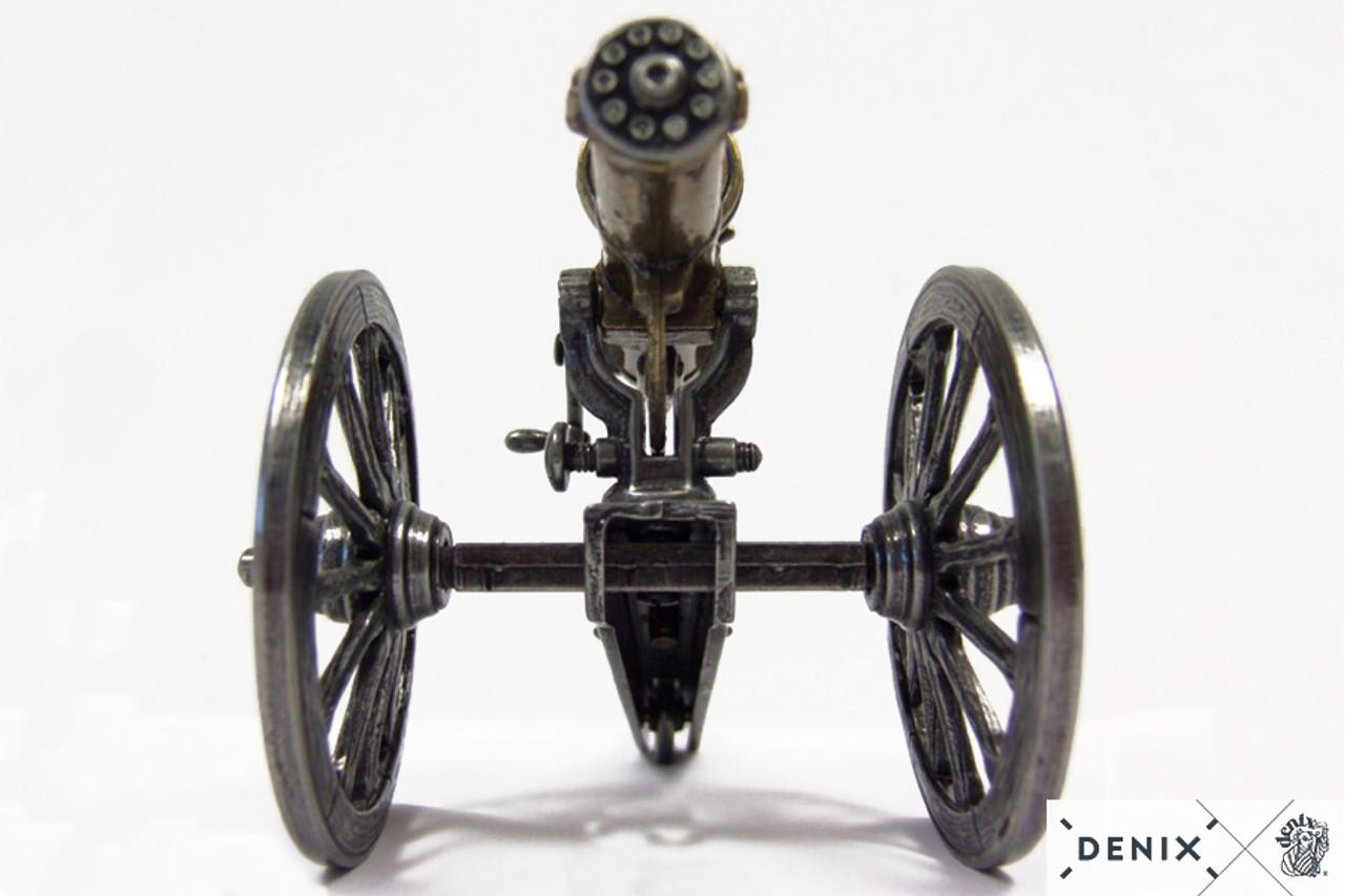 Civil War Gatling Gun Metal Display Model USA 1861