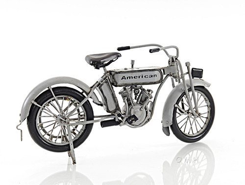 Harley-Davidson 7D Twin 1911 Motorcycle Metal Model