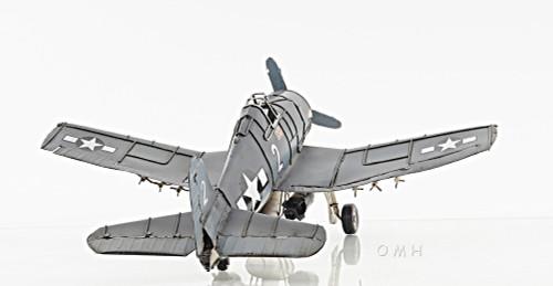 Grumman Hellcat Fighter Metal Model WWII Airplane