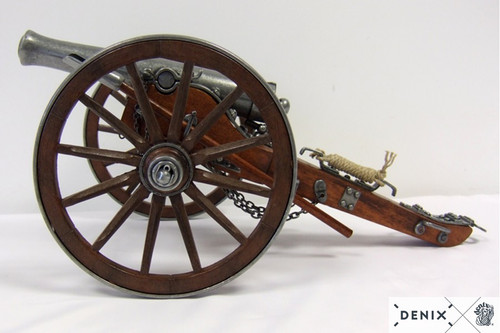 Metal Civil War 12 Pounder 1861 Cannon Field Artillery Model