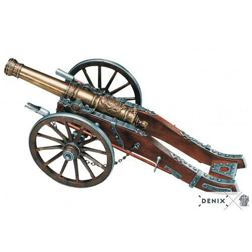 Scale Model Cannon 18th Century French Louis XIV 12""