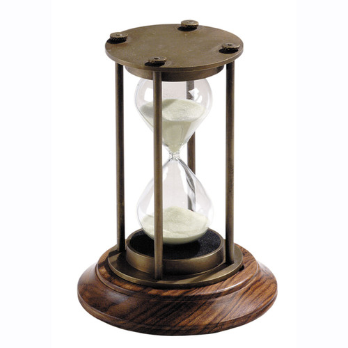 Nautical Brass Hourglass Bronze Sand Timer Sandglass