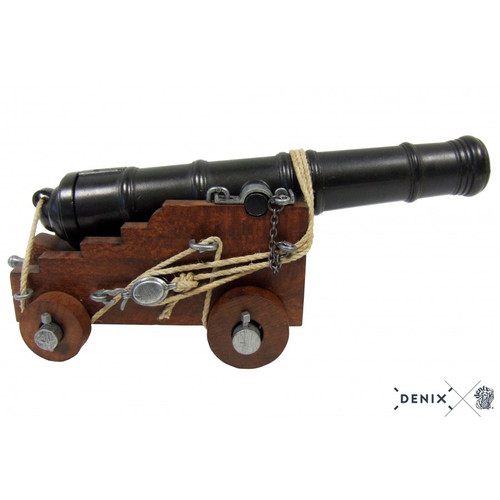 Naval Cannon Model 18th Century British 1800