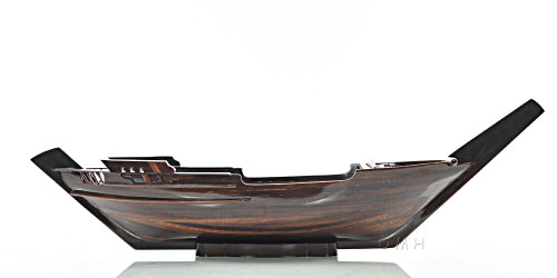 Dhow Ship Serving Sushi Tray Caravel Boat