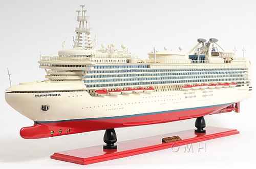 Diamond Princess Cruise Ship Model Ocean Liner
