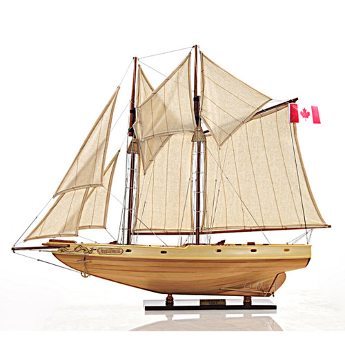 Schooner Bluenose II Ship Model Sailboat Fully Built