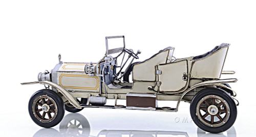 Rolls-Royce Silver Ghost Metal Car Model Automobile