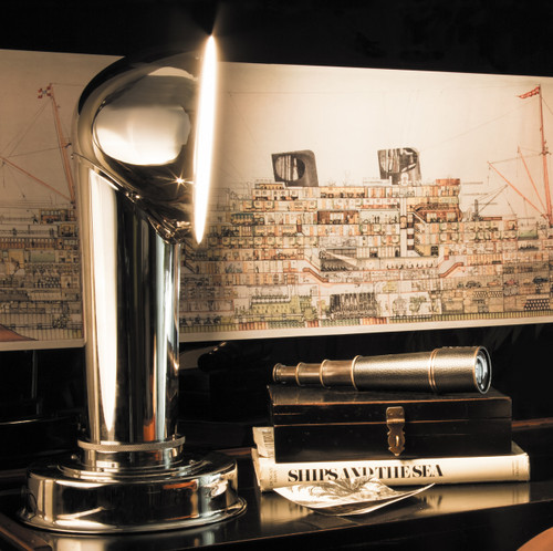 Ships Steamer Funnel Lamp Desk Table Light