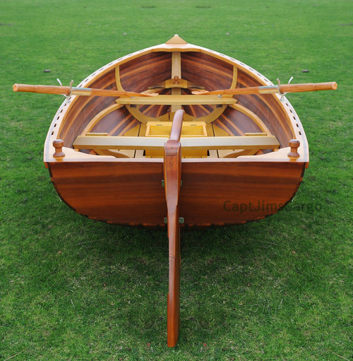 Cedar Dingy Wood Strip Built Boat Tender