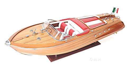 rc ready riva aquarama speed boat wooden model 35 u0026quot  runabout