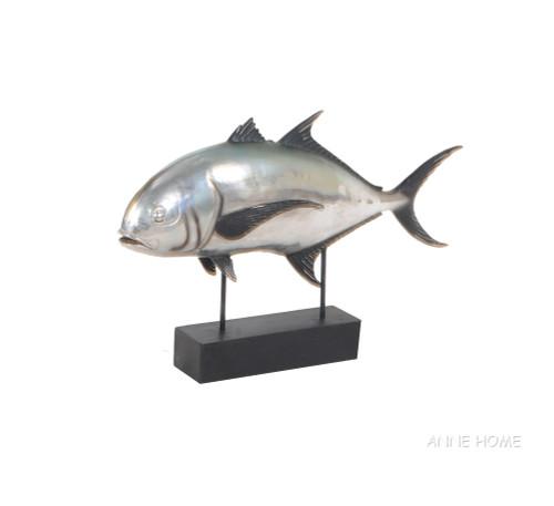 Crevalle Jack Fish Mount Figurine Statue Fishing