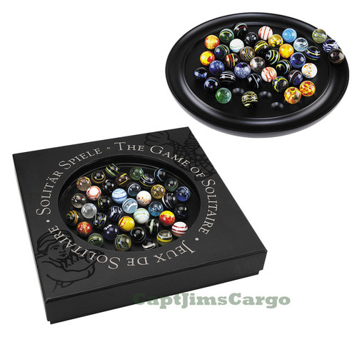 Solitaire Di Venezia Game 25mm Hand Blown Marbles