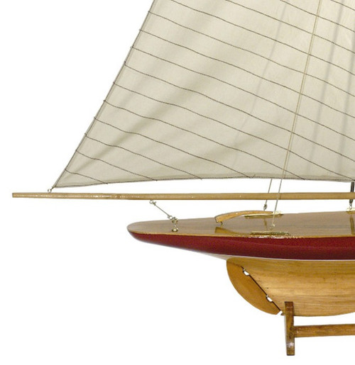 Defender Pond Yacht Sail Model Authentic Models