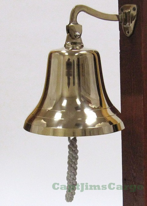 Nautical Solid Cast Brass Ships Boat Bell