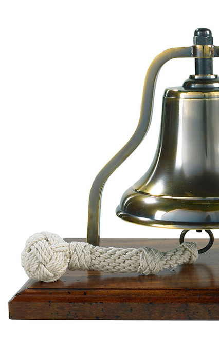 Nautical Brass Purser's Bell Bronze Antiqued Finish