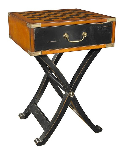 Authentic Models Grandmaster's Box Chess Game Table