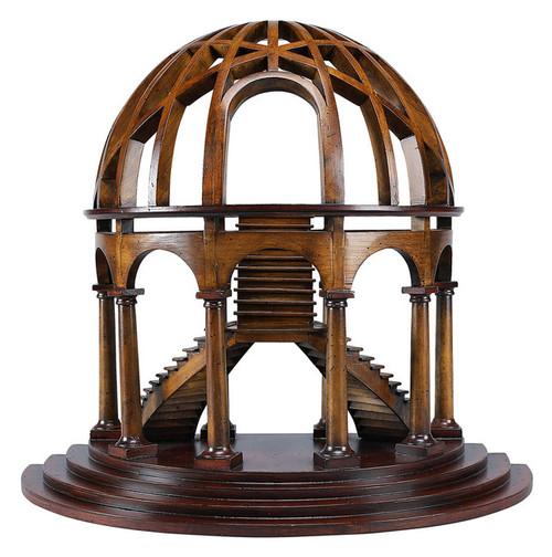 Demi-Dome Architectural 3D Wooden Model Dome
