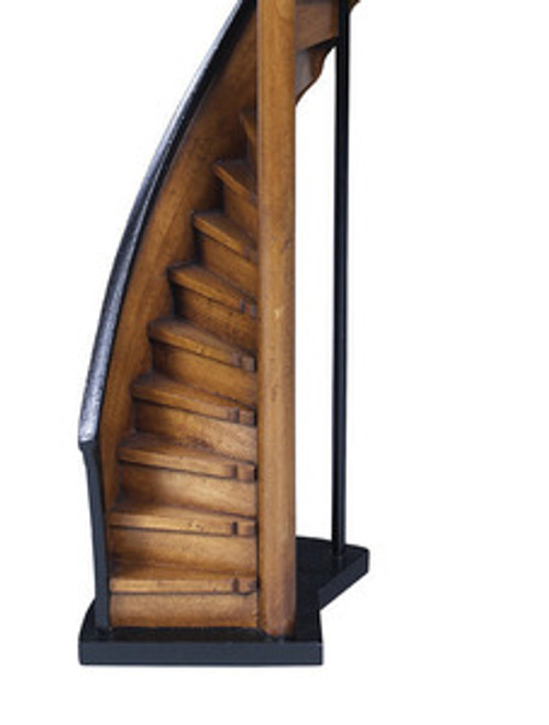 Lighthouse Steps 3D Wooden Stairs Model