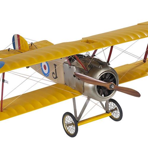 Sopwith Camel British Biplane Wood Model Plane