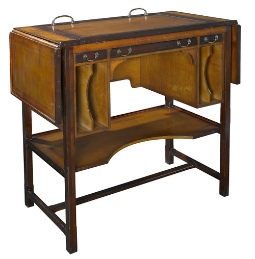 "Bureau Architecte Architects Desk TALL 39"" Wooden Furniture"
