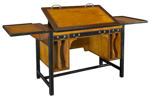 Bureau Architecte Wood Architects Desk MF086 Authentic Models