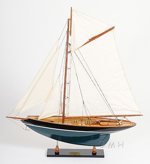 Eric Tabarlys Pen Duick Painted Wooden Model