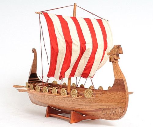 Drakkar Dragon Viking Ship Model Boat Sailboat