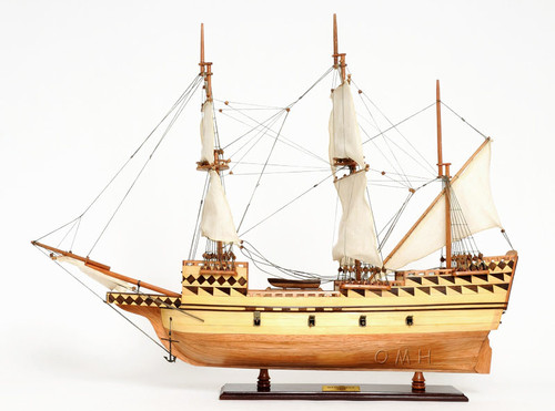 Mayflower 1620 Plymouth Pilgrim's Wood Ship Model
