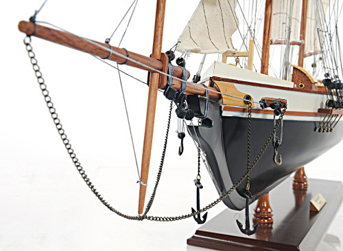 Harvey Baltimore Clipper Wooden Model Tall Ship