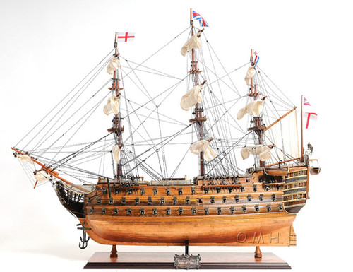 HMS Victory Copper BottomTall Ship Model
